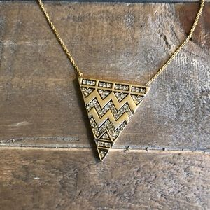 House of Harlow reversible pyramid necklace